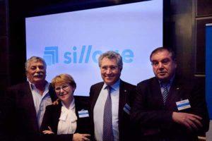 Lo staff di Siav. Da sinistra: Alfieri Voltan, Maurizio Cuzari, Leonardo Bernardi e Alessandra Morelli